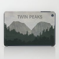 twin peaks iPad Cases featuring Twin Peaks by avoid peril