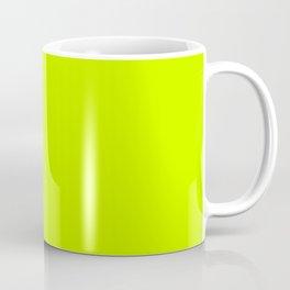 ELECTRIC LIME Neon solid color Coffee Mug
