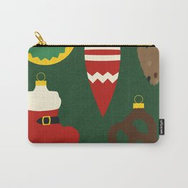 Christmas Tree Set Carry-All Pouch