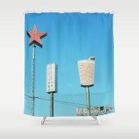 copenhagen Shower Curtains featuring Copenhagen 01 by Getting Lost