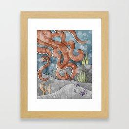 The Ocean Floor Framed Art Print