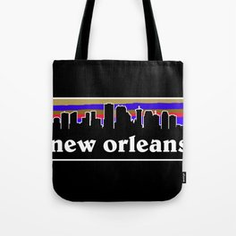 New Orleans Cityscape Tote Bag