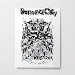 Bong Da City Metal Print