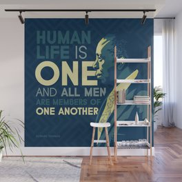 Howard Thurman Wall Mural