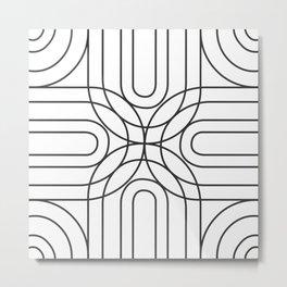 rainbow mess tile 2 Metal Print