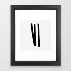 Lines 2, 1 Framed Art Print