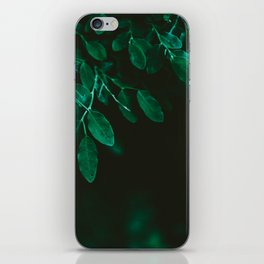 Huckleberry Leaves iPhone Skin