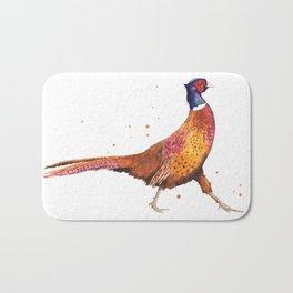 Pheasant Strut Bath Mat