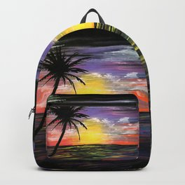 Sunset Sea Backpack