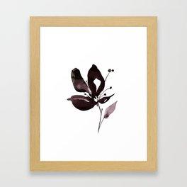 Organic Impressions No.308 by Kathy Morton Stanion Framed Art Print