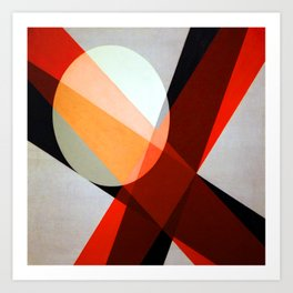 Laszlo Moholy Nagy Moon Beams Art Print