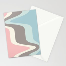 Ice cream in the parking lot Stationery Cards