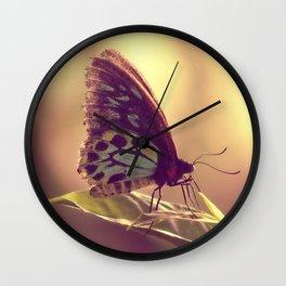 Butterfly 02 Wall Clock