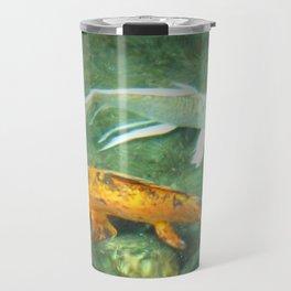 Coy Fish Travel Mug