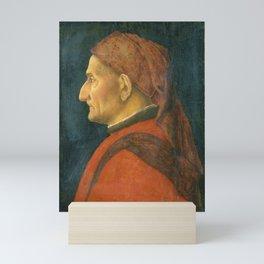 Andrea Mantegna - Portrait of a Man (1460) Mini Art Print