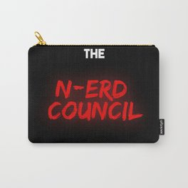 The N-Erd Council  Logo Carry-All Pouch