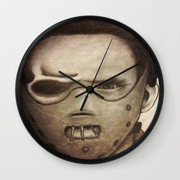 hannibal lector Wall Clock