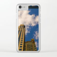 cloudy day N.Y Clear iPhone Case