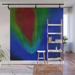 With All My Heart Wall Mural