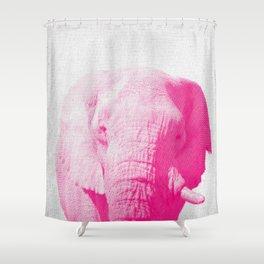 Elephant 02 Shower Curtain