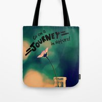 journey Tote Bags featuring Journey by RDelean
