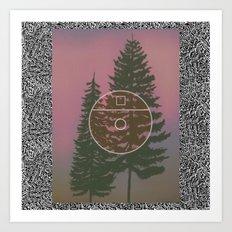 One E. Round Art Print