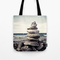 magic the gathering Tote Bags featuring Gathering by Olivia Joy StClaire