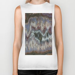 Cady Mountain Banded Agate Biker Tank