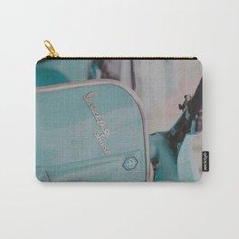 Mint Vespa  Carry-All Pouch