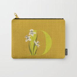 D for Daffodil Carry-All Pouch