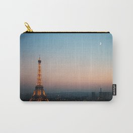 Paris Soft Sunset Carry-All Pouch