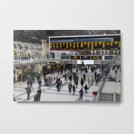 Liverpool Street Station London Metal Print