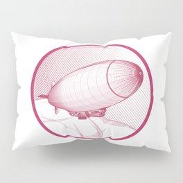 Airship engraving Pillow Sham