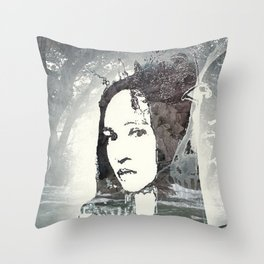 This must be underwater love Throw Pillow