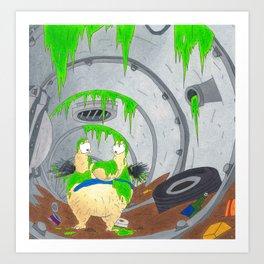 aaahh Real Monsters Krumm 90s Nickelodeon Art Print
