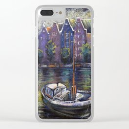 Holland Clear iPhone Case