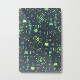 Midcentury Modern Science Metal Print