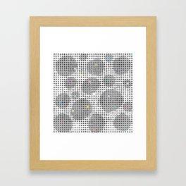 Spot Light in the Dark Framed Art Print