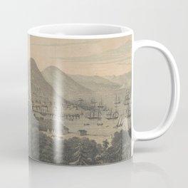 Vintage Pictorial Map of San Francisco CA (1850) Coffee Mug