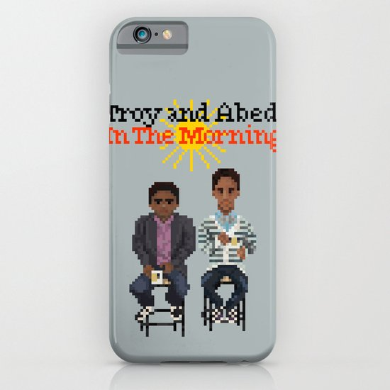 Troy And Abed In the Morning iPhone & iPod Case