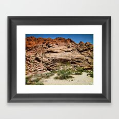 Red Rocks I Framed Art Print