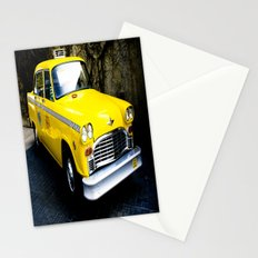 Yellow Cab (1) Stationery Cards