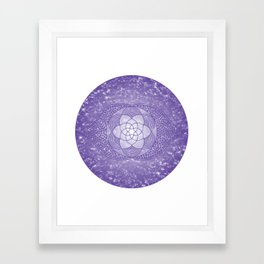 The Third Eye Chakra Framed Art Print