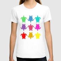 sea turtle T-shirts featuring TURTLE by Brittney Weidemann