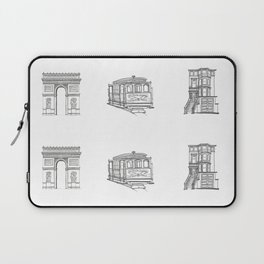 San Francisco Icons Laptop Sleeve