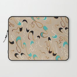 Lucky Squiggles – A Touch of Tiffany Laptop Sleeve