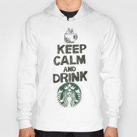 starbucks Hoodies featuring Starbucks by jrgff