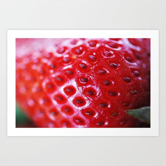 Berry Art Print