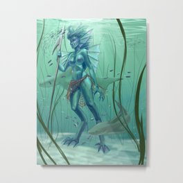 Sea Guardian Metal Print