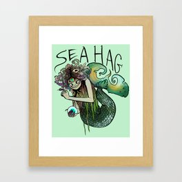 Sea Hag Framed Art Print